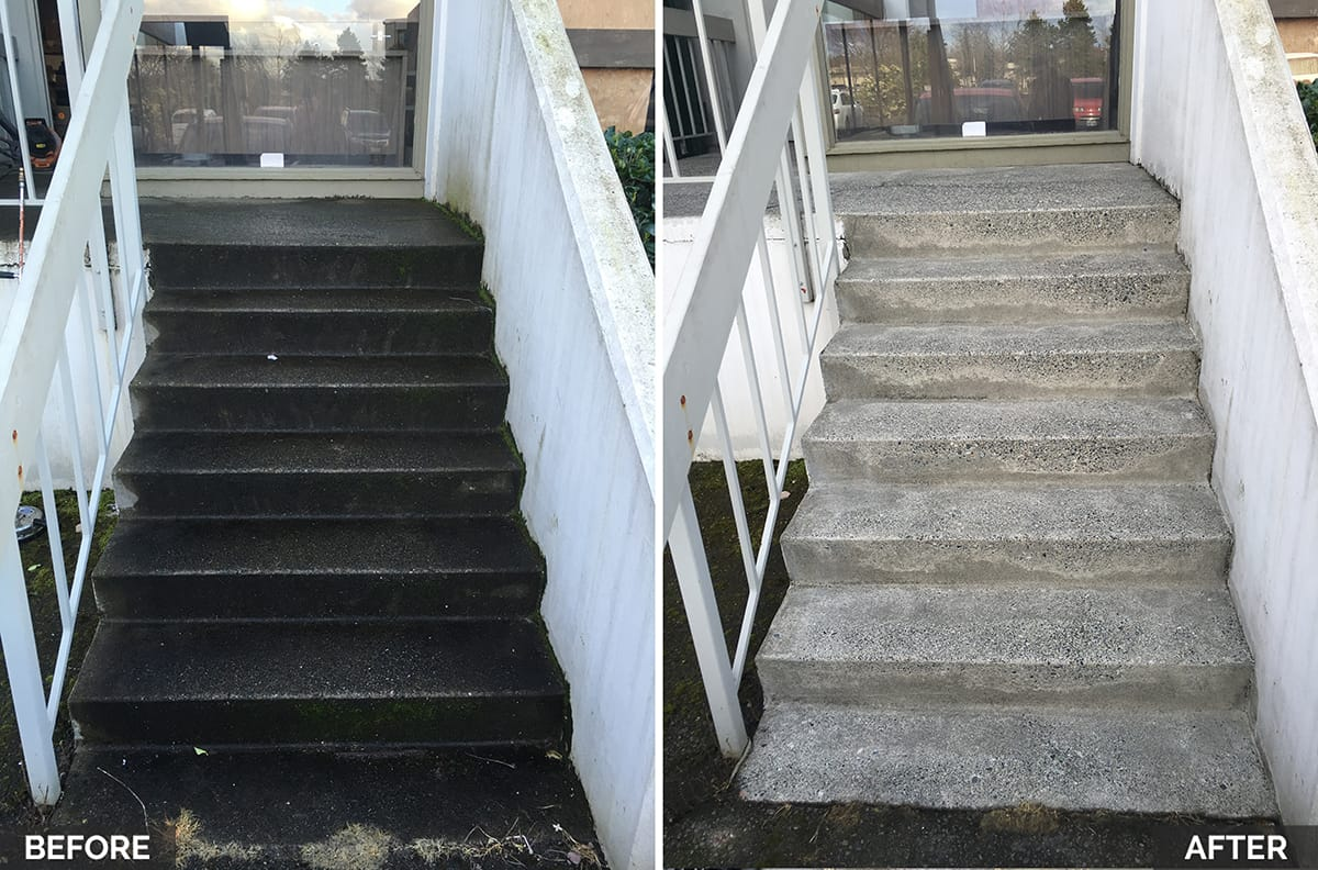 cleaning office buildings