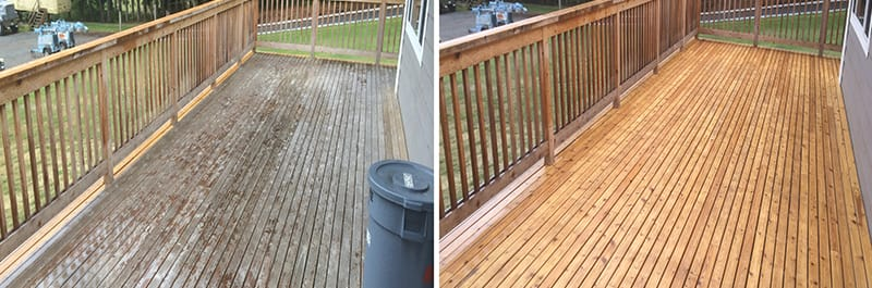 Decks & Porches Cleaning