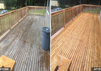 decks cleaning